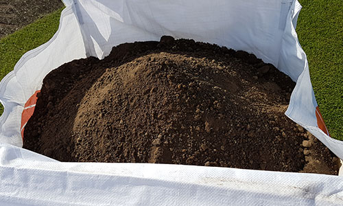 Buy topsoil online at LC Turf